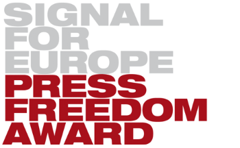 Verleihung des Press Freedom Award 2016