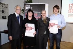Die Preisträger des Press Freedom Awards