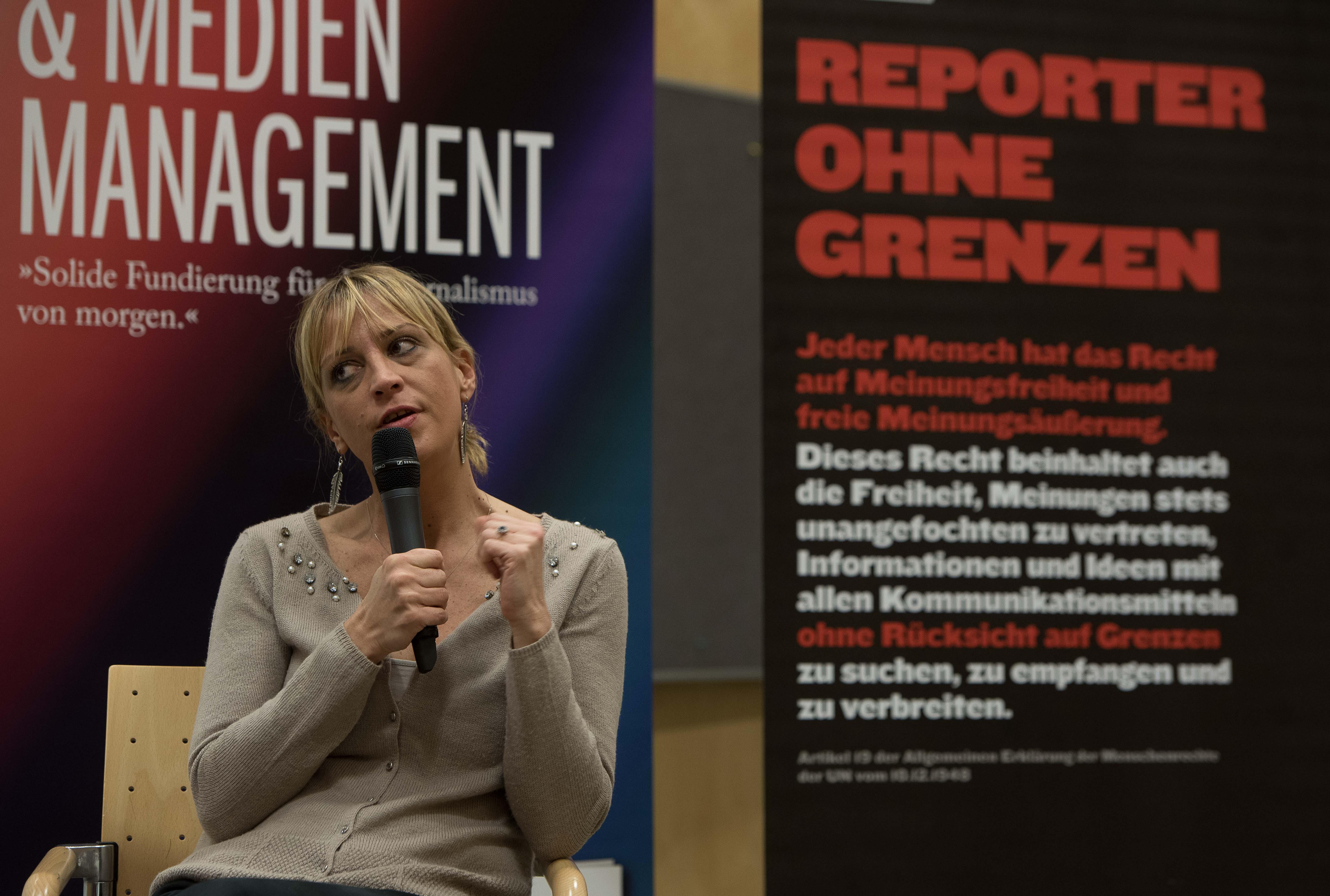 """Türkische Journalistin Ceyda Karan in Wien: """"Religion als Waffe eingesetzt"""""""