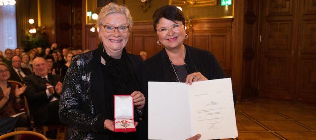 Goldenes Ehrenzeichen für Verdienste um die Republik Österreich für Rubina Möhring