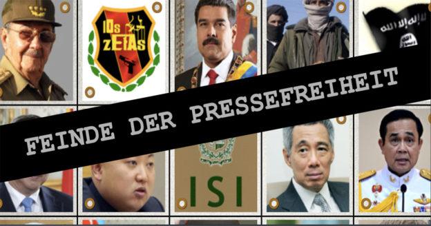 Feinde der Pressefreiheit 2016