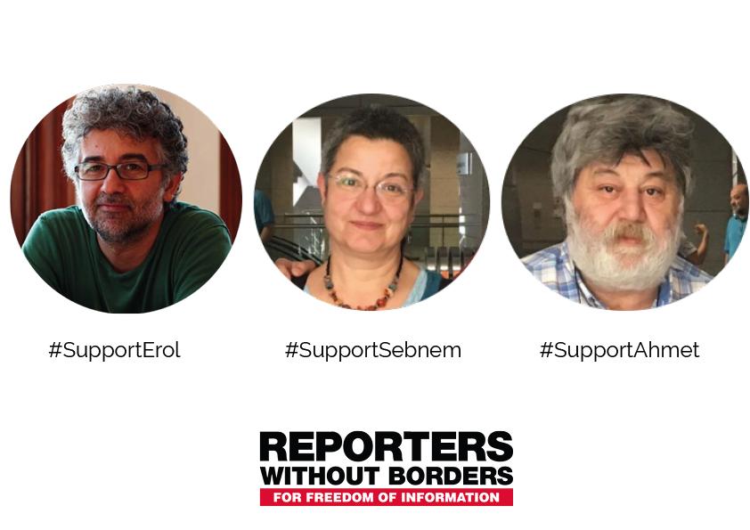 Türkische JournalistInnen vor Gericht