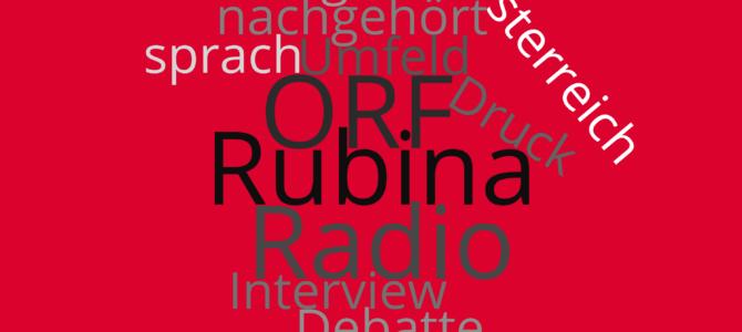 Rubina Möhring bei Radio Dreyeckland über geplante ORF Social-Media-Richtlinien