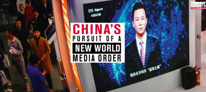 ROG-Bericht: Chinas Streben nach einer neuen Medienordnung