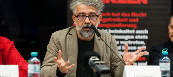 Verteidigungsrede von ROG-Representant Erol Önderoğlu