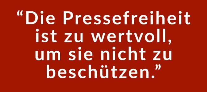 Tag der Pressefreiheit