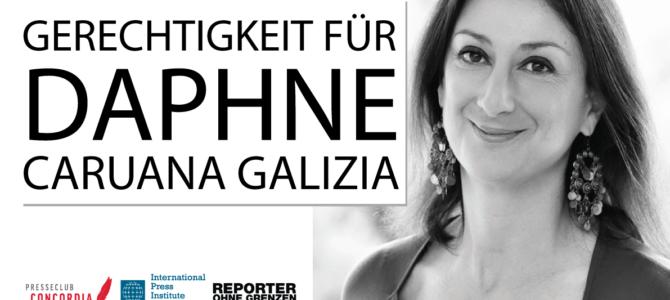 Einladung zur Mahnwache: Gerechtigkeit für Daphne Caruana Galizia