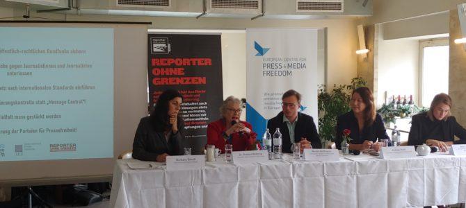 Advocacy Mission stellt Österreichs Medienfreiheit auf den Prüfstand