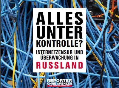Neuer ROG-Bericht zur Internetzensur