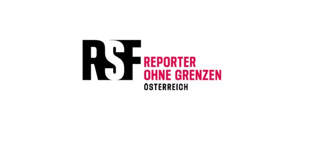 Reporter ohne Grenzen mit neuem Logo