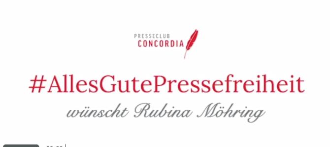 Grußbotschaft zum Tag der Pressefreiheit
