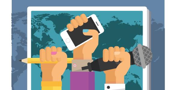 Polis atuell: Unterrichtsmateralien zur Pressefreiheit