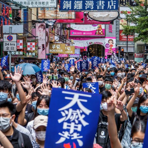 """Brennpunkt """"Hongkong"""":  Spannender Zoom-Talk über Proteste und Co. mit Raimund Löw!"""