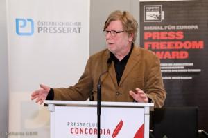 Erhard Stackl, Reporter ohne Grenzen