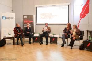 """Diskussion """"Media under Pressure"""" über die Lage in Polen"""